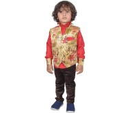 Color Kids Boys Shirt  (Maroon)