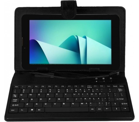 MoreGmax 4G7 with Keyboard 8 GB 7 inch with Wi-Fi+4G  (Black)