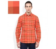 United Colors Of Benetton Orange Slim Fit Shirt