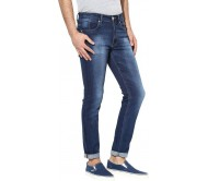 MCJ Slim Men's Dark Blue Jeans