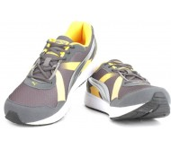 Puma Propeller DP Men Running Shoes  (Brown, Grey, Yellow)
