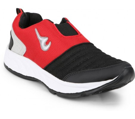 Rich-N-Topp Striker 03 Running Shoes, Walking Shoes  (Black, Red)