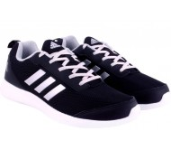 Adidas Running Shoes  (Black)