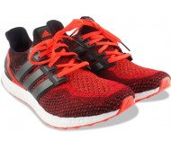 Adidas ULTRABOOST M Running Shoes  (Black, Red)
