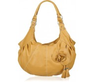 Meridian Shoulder Bag  (Beige)