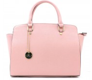 Diana Korr Hand-held Bag  (Pink)