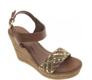 Wanderlust Women Tan Wedges