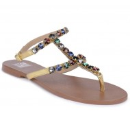 The Tan Base Women Multicolor Flats