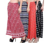 NGT Regular Fit Women's Multicolor Trousers